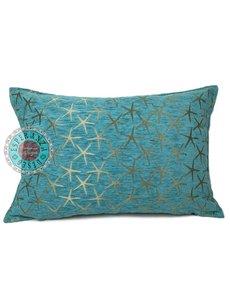 Esperanza Deseo Kussen Turquoise Starfish brons 50x70