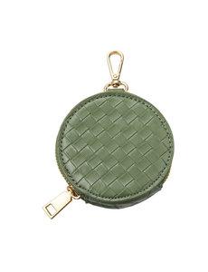 Ronde portemonnee groen