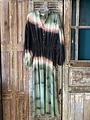 Banditas Banditas - Lange jurk Balivibe groen