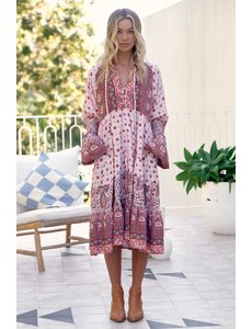 Jaase Jaase - Lange jurk Poppy