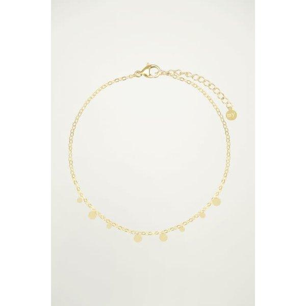 My Jewellery My Jewellery - Armband kleine rondjes Goud