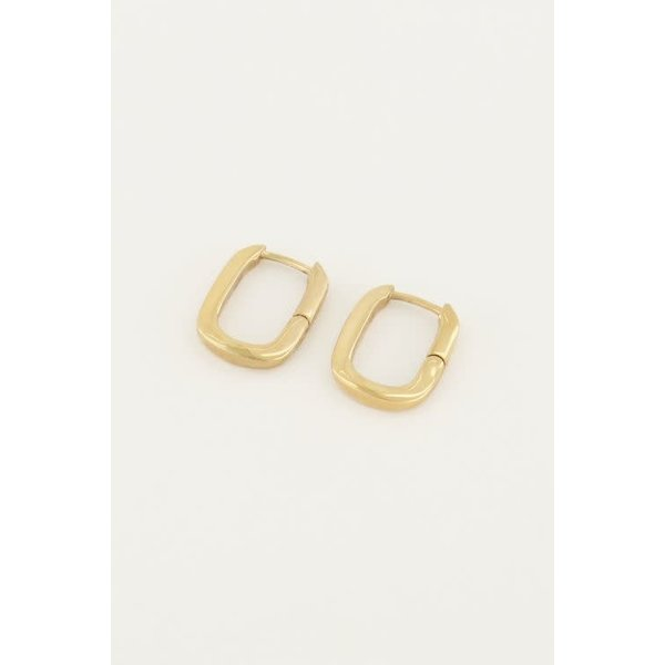 My Jewellery My Jewellery - Oorbellen ovaal klein