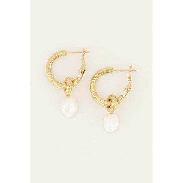 My Jewellery My Jewellery - Oorringen met parel
