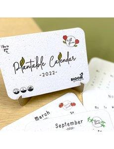 Bloom Your Message Plantbare Kalender