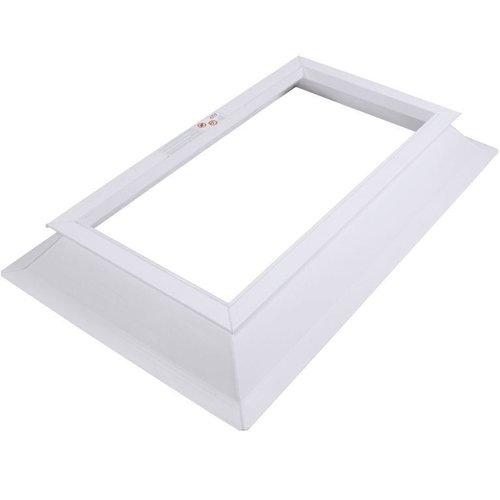 80  x 180 cm Opstand voor lichtkoepel