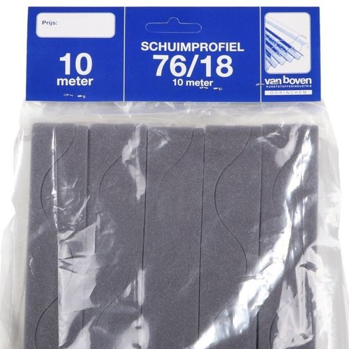 Schuimprofiel Type G en H 10 meter