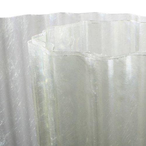 Polyester Golfplaat op Rol 3000mm Transparant Type H