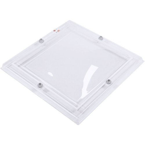 Lichtkoepel vierkant 100 x 100 cm