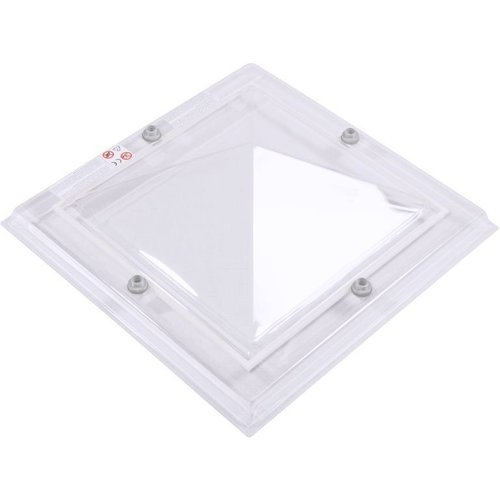 Lichtkoepel vierkant piramide 90 x 90 cm