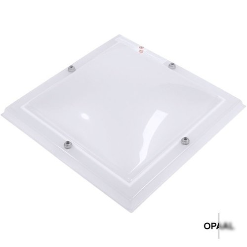 Lichtkoepel set vierkant 50 x 50 cm