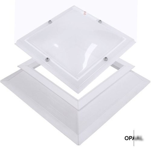 Lichtkoepel ventilatieset  vierkant 70 x 70 cm