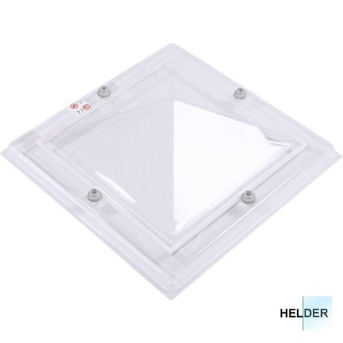 Lichtkoepel ventilatieset  vierkant piramide 60 x 60 cm