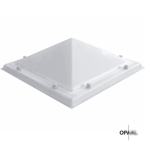 Lichtkoepel ventilatieset  vierkant piramide 150 x 150 cm