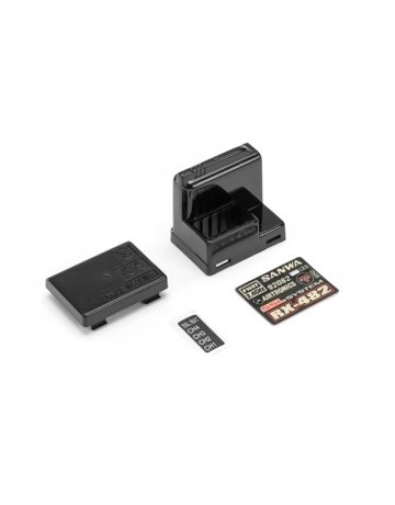 Sanwa 107A41302A,-Sanwa- RX-482 Receiver Case Set