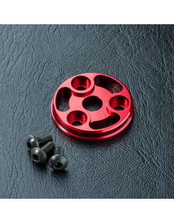 MST MST210461R,-RMX Alum. spur gear cover (red)