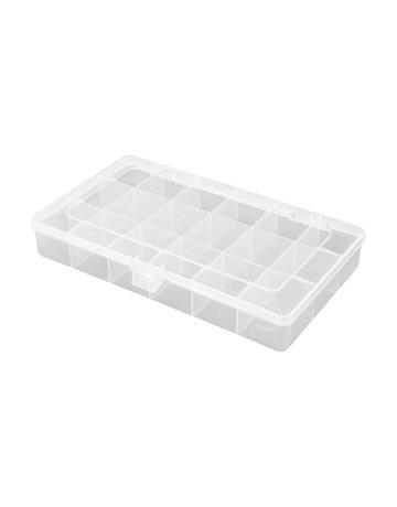 robitronic R14030,-Assortiment box 18 vakken 210x119x34,5 mm