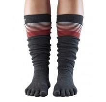 Full-Toe with Grip SCRUNCH Knee-High in: SunsetStripe