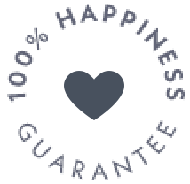 100% Happiness Guarantie