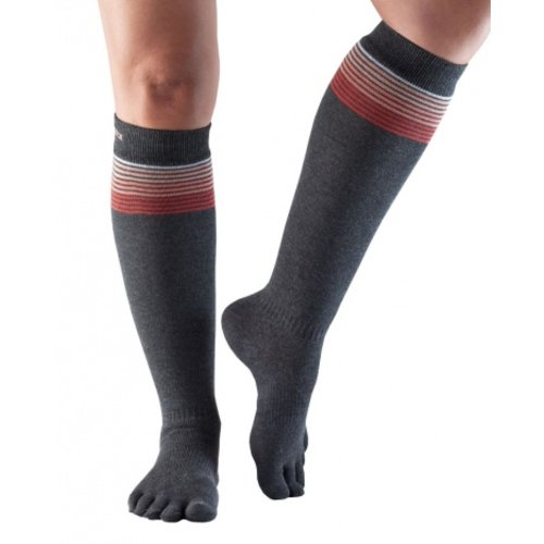 ToeSox CASUAL, KNEE-HIGH in SunsetStripe