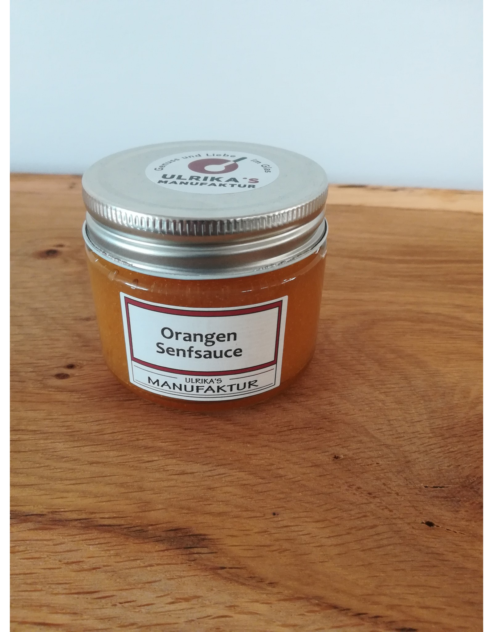 Ulrika's Orangen Senf Sauce