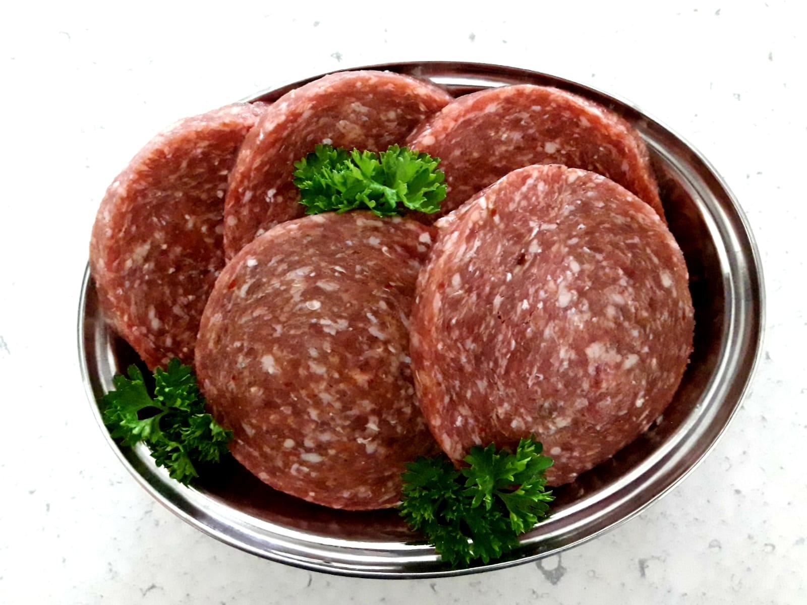Hamburger (Half Om Half)   100-125gr (Holleman Vlees)