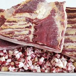 Gerookte Spekblokjes Fijn   150gr (Holleman Vlees)