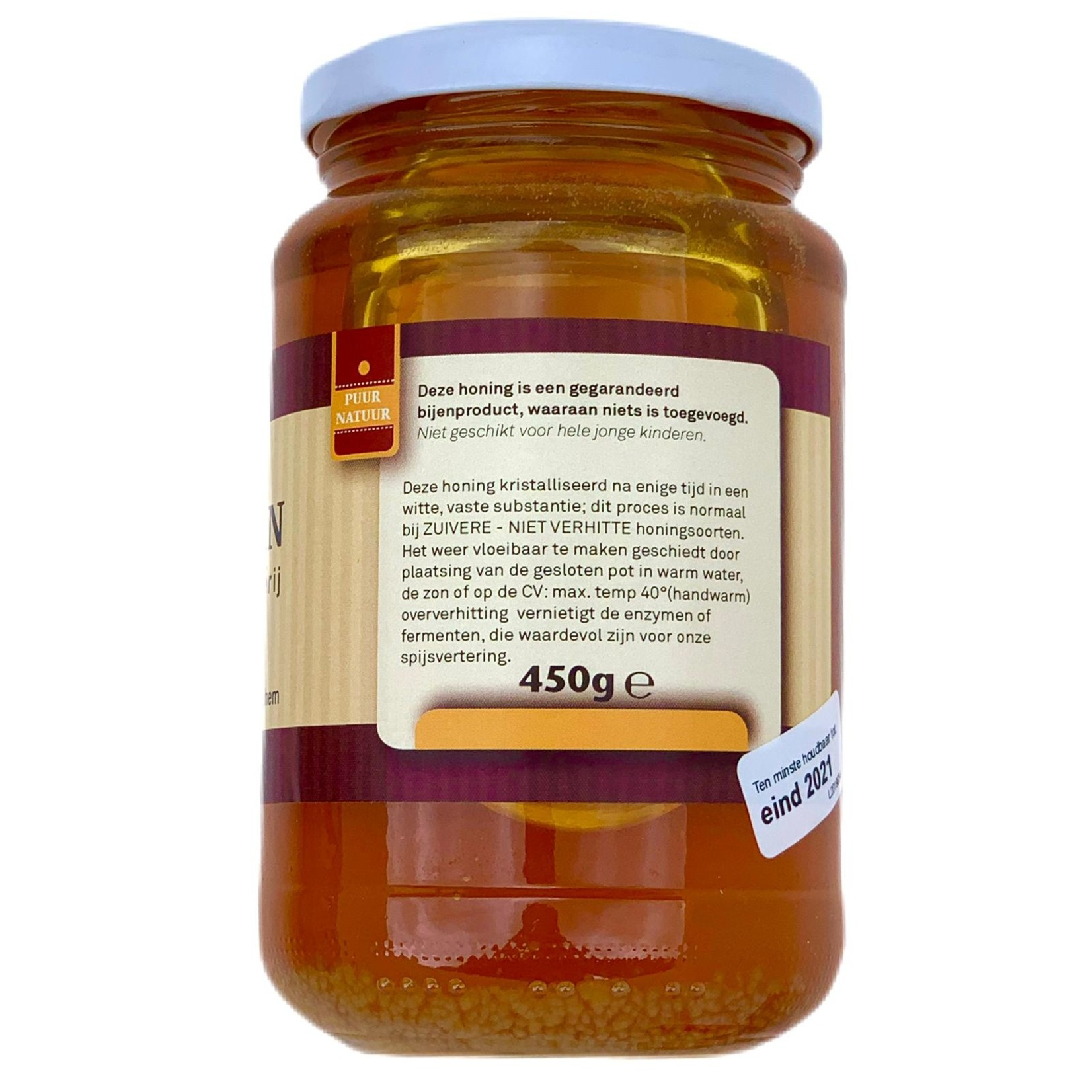 Bloemenhoning | 450 gr (Pluimveebedrijf Tomesen)