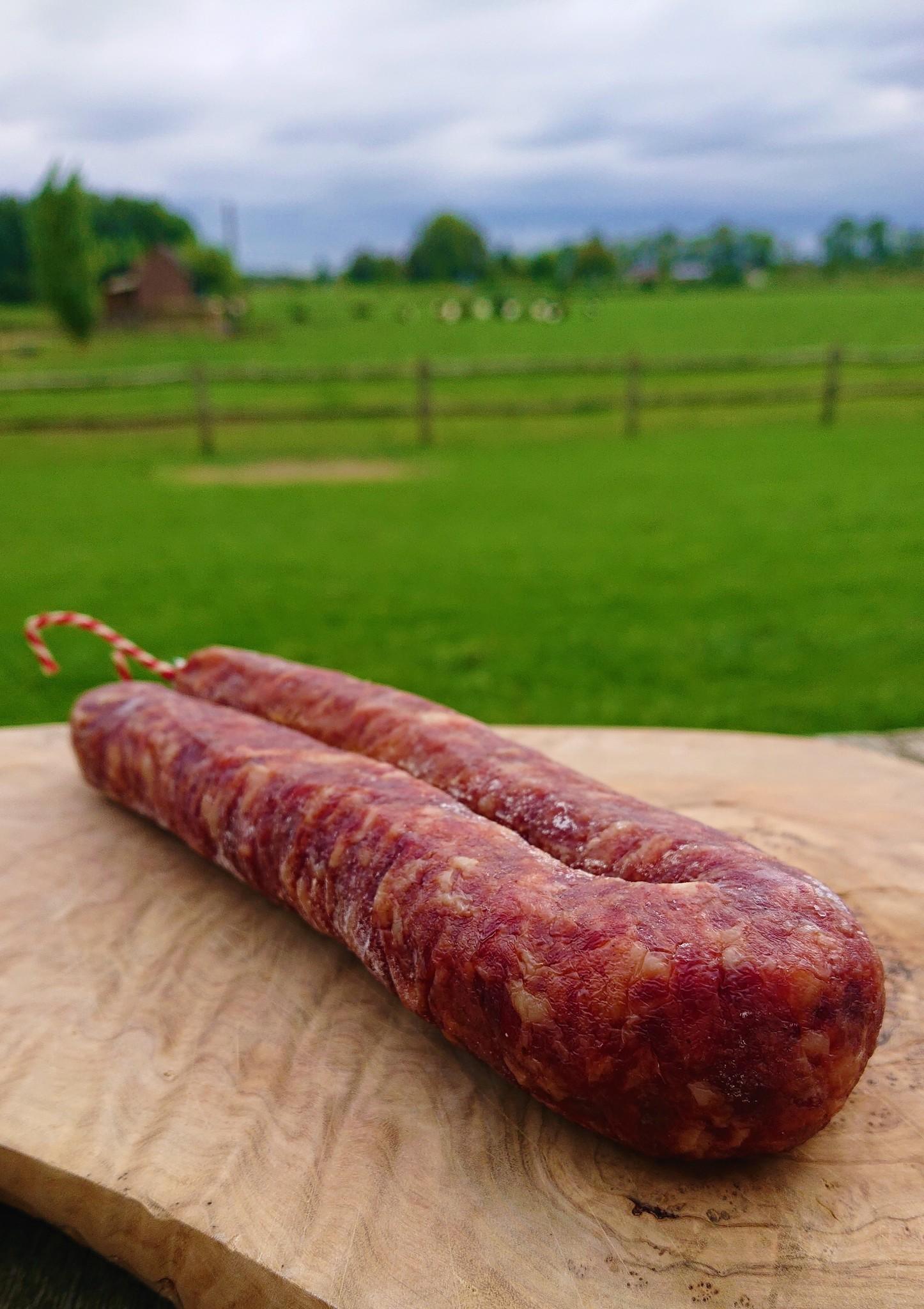 Worst Mangalica | 3 stuks (Houberg)
