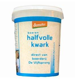 Halfvolle Kwark | 500gr (Klein Broekhuizen)