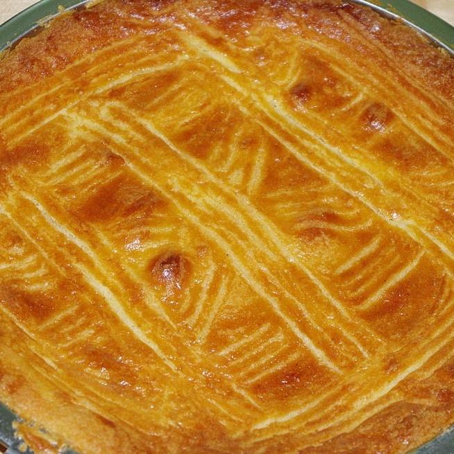 Gevulde boterkoek | Per stuk (Bakkerij Hugen)