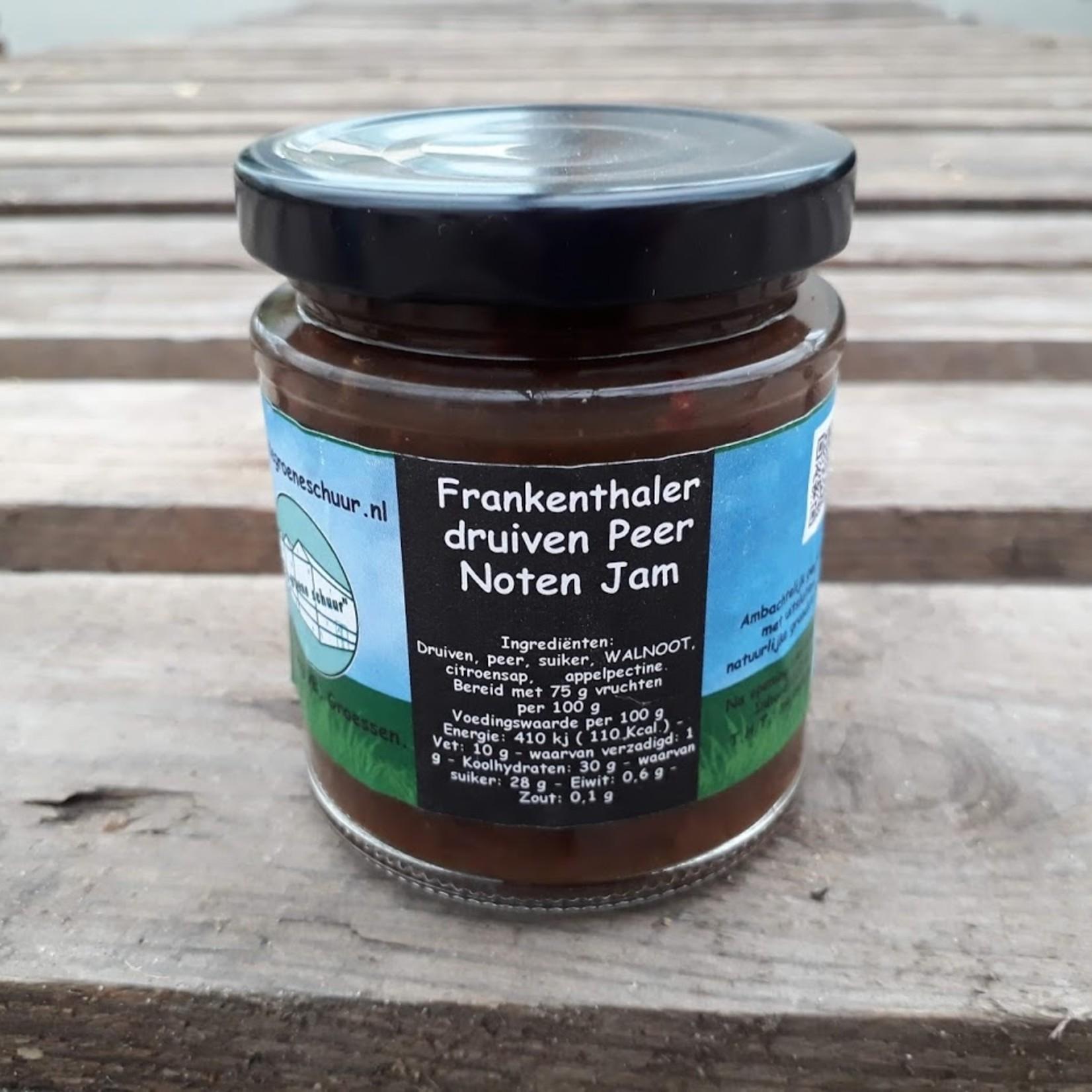 Druiven-peer-noten jam (De Groene Schuur)