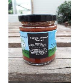 Paprika-tomaat chutney (De Groene Schuur)