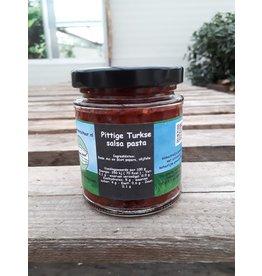 Pittige Turkse peper pasta (De Groene Schuur)