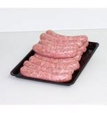 Varkens saucijzen |100gr (Slagerij Gerritschen)