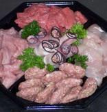 Gourmetschaal Standaard | 4 personen (Slagerij Gerritschen)