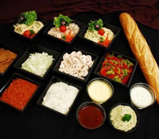 Servicepakket Gourmet/Fondeu    Per stuk  (Slagerij Gerritschen)