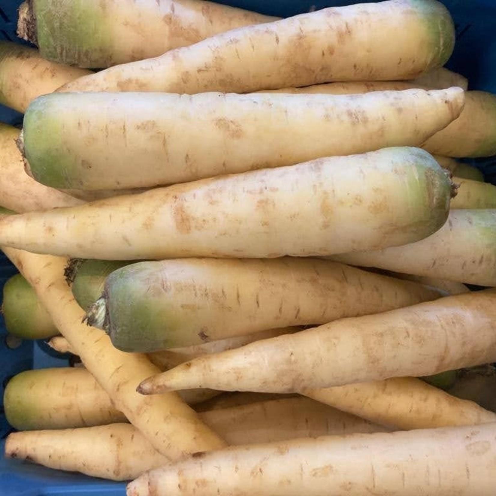 Witte wortelen | 500gr (de Groene Schuur)