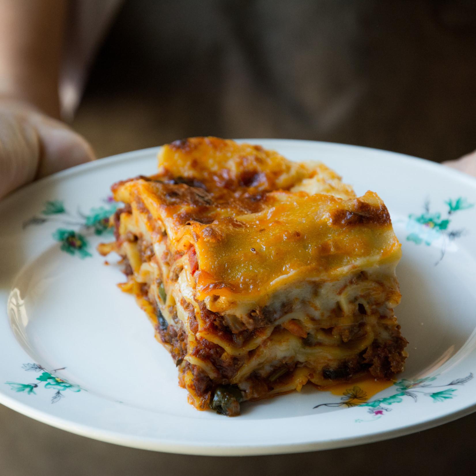 Lasagne vegetarisch   550gr (Van Mien)