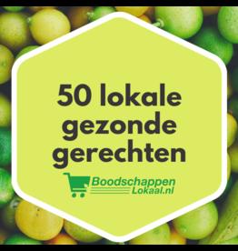 E-book met 50 heerlijke recepten!