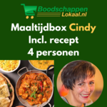 Maaltijdbox Cindy | Indiase Curry | 4 personen