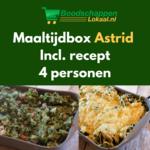 Maaltijdbox Astrid | Boerenkool uit de oven | 4 personen