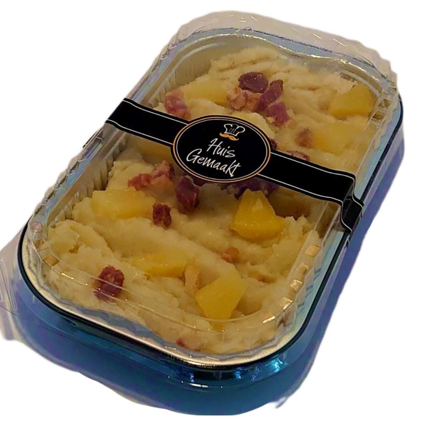 Zomer zuurkool stamppot met spekjes en ananas | per maaltijd | (Slagerij Gerritschen)