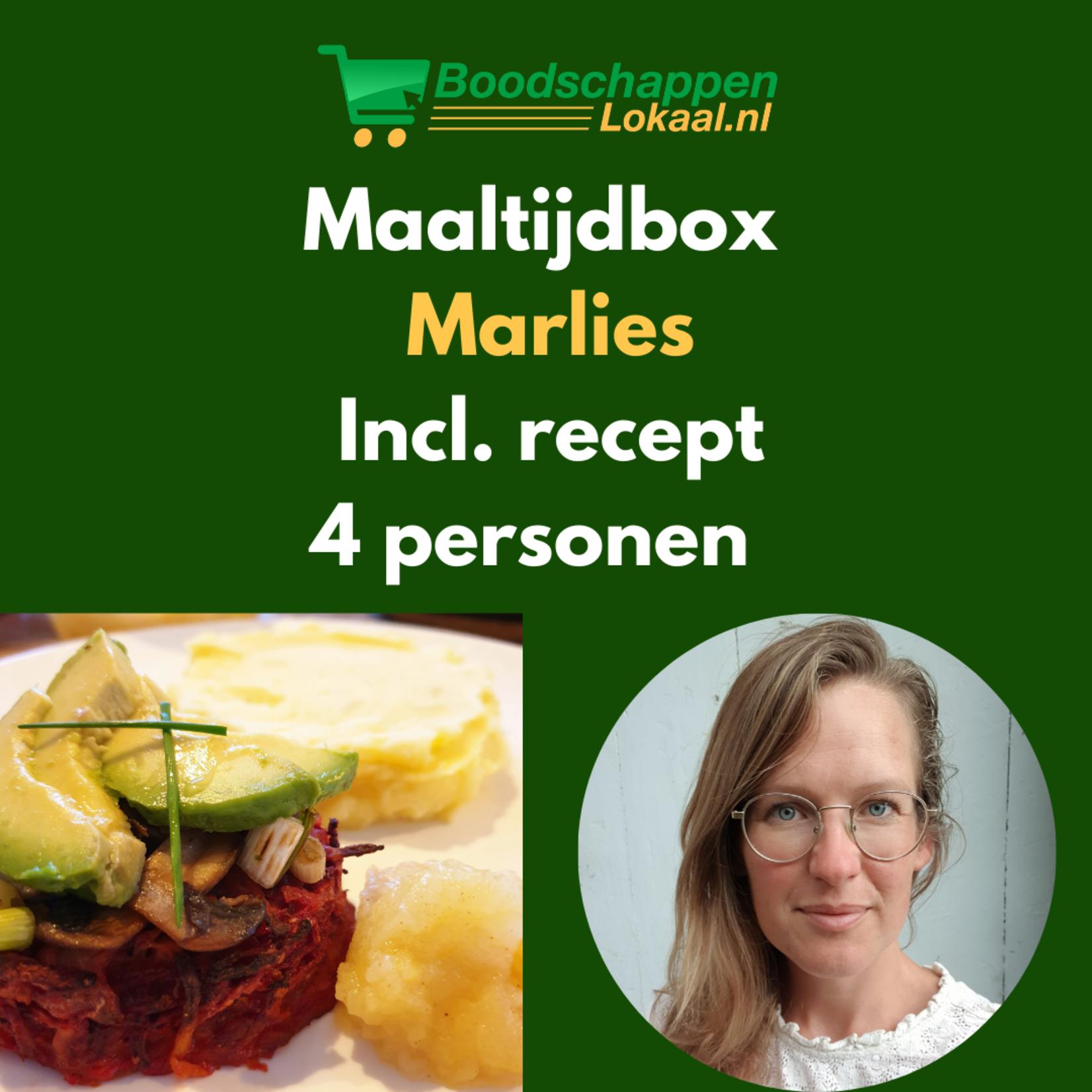 Maaltijdbox Marlies | Bieten Rösti | 4 personen