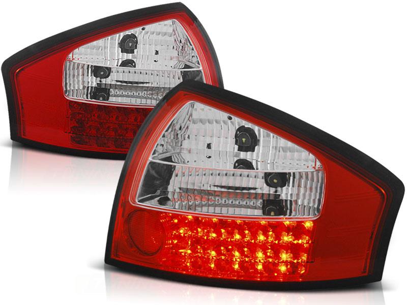 Tuning-Tec Achterlichten voor Audi A6 05 97-05 04 ROOD HELDER LED