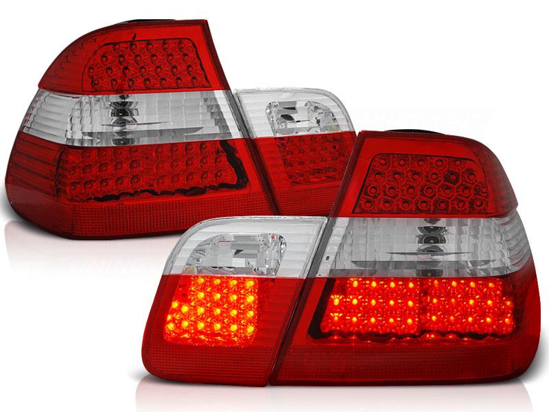 Tuning-Tec Achterlichten BMW E46 09 01-03 05 SEDAN ROOD HELDER LED