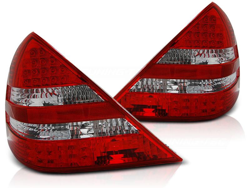 Tuning-Tec Achterlichten MERCEDES R170 SLK 04 96-04 ROOD HELDER LED