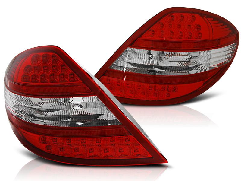 Tuning-Tec Achterlichten MERCEDES R171 SLK 04-11 ROOD HELDER LED
