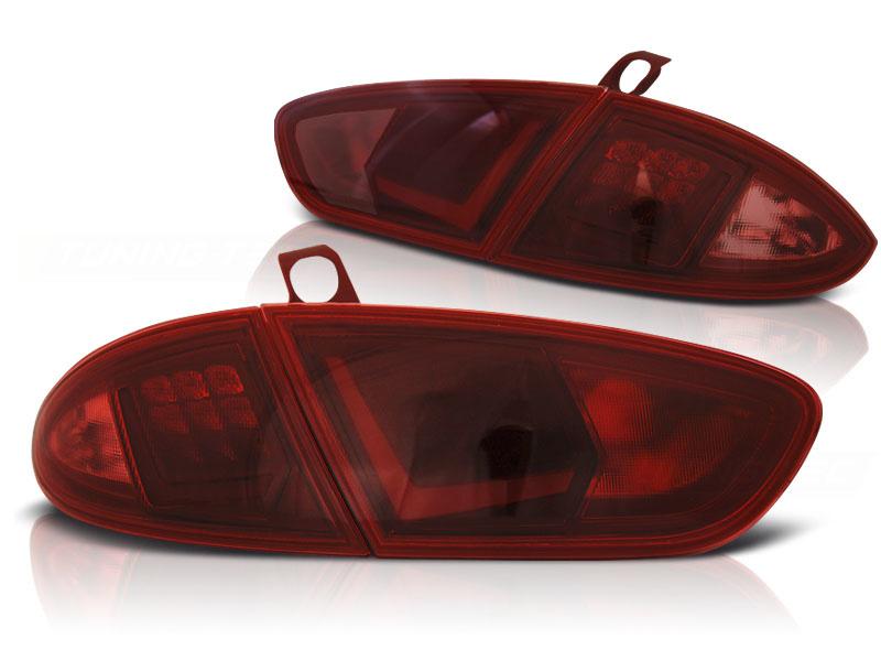 Tuning-Tec Achterlichten SEAT LEON 03 09-12 ROOD LED STRIP