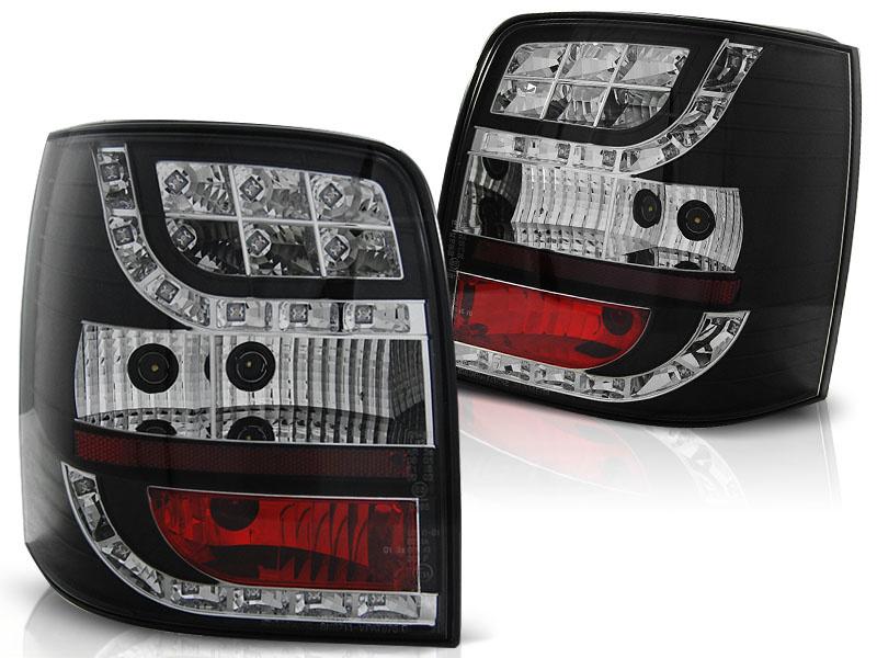 Tuning-Tec Achterlichten voor VW PASSAT 3BG 00-04 VARIANT ZWART LED