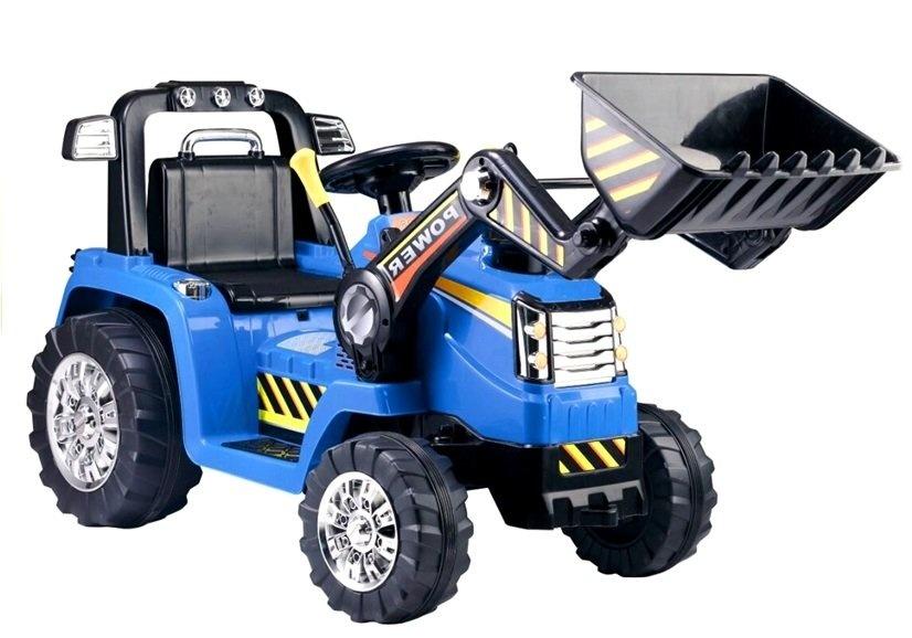 Viking Choice Graafmachine ride-on met geluid + bestuurbare arm - Blauw